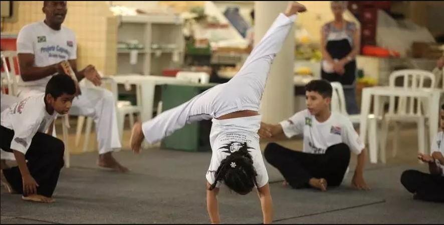Capoeira é coisa bem brasileira