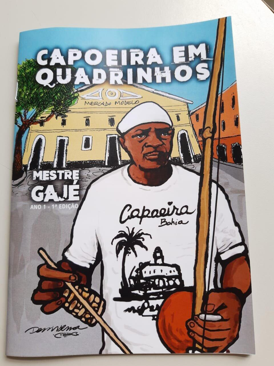 """Projeto """"Capoeira em Quadrinhos"""""""