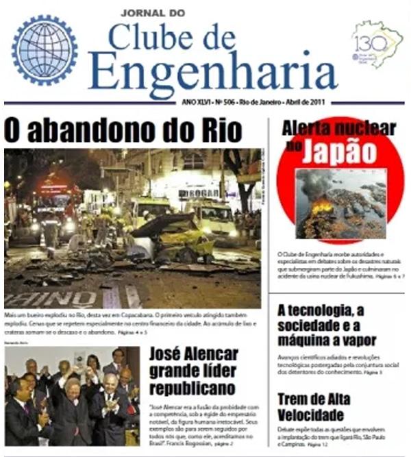 Jornal número 506 - Abril de 2011