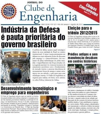Jornal número 521 - Agosto de 2012