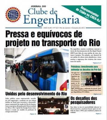 Jornal número 523 - Outubro de 2012