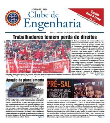 Jornal do Clube de Engenharia nº 554 - Maio de 2015
