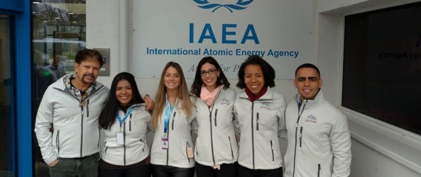 Equipe brasileira vence a Olimpíada Nuclear 2019 em Viena, na Áustria