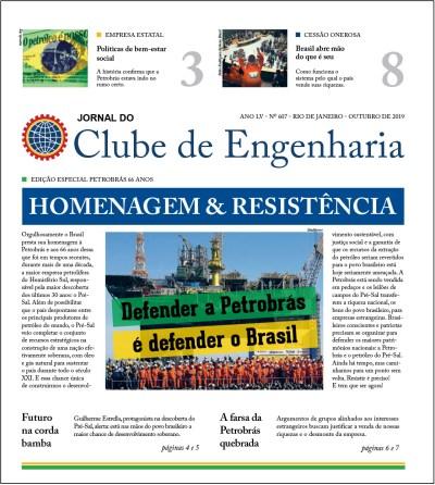 Jornal do Clube de Engenharia nº 607 – Outubro de 2019