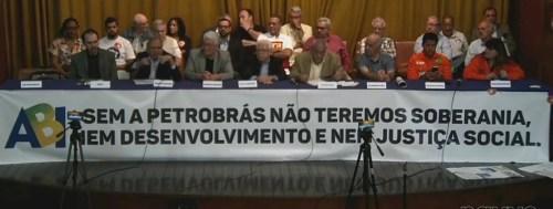 Frente Estadual em Defesa da Petrobrás, da Soberania Nacional e do Desenvolvimento