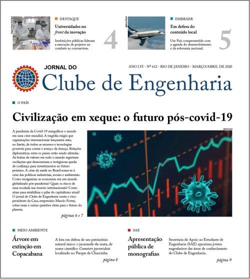 Jornal do Clube de Engenharia nº 612 – Março/Abril de 2020
