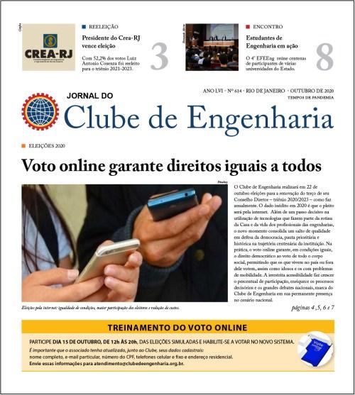 Jornal do Clube de Engenharia nº 614
