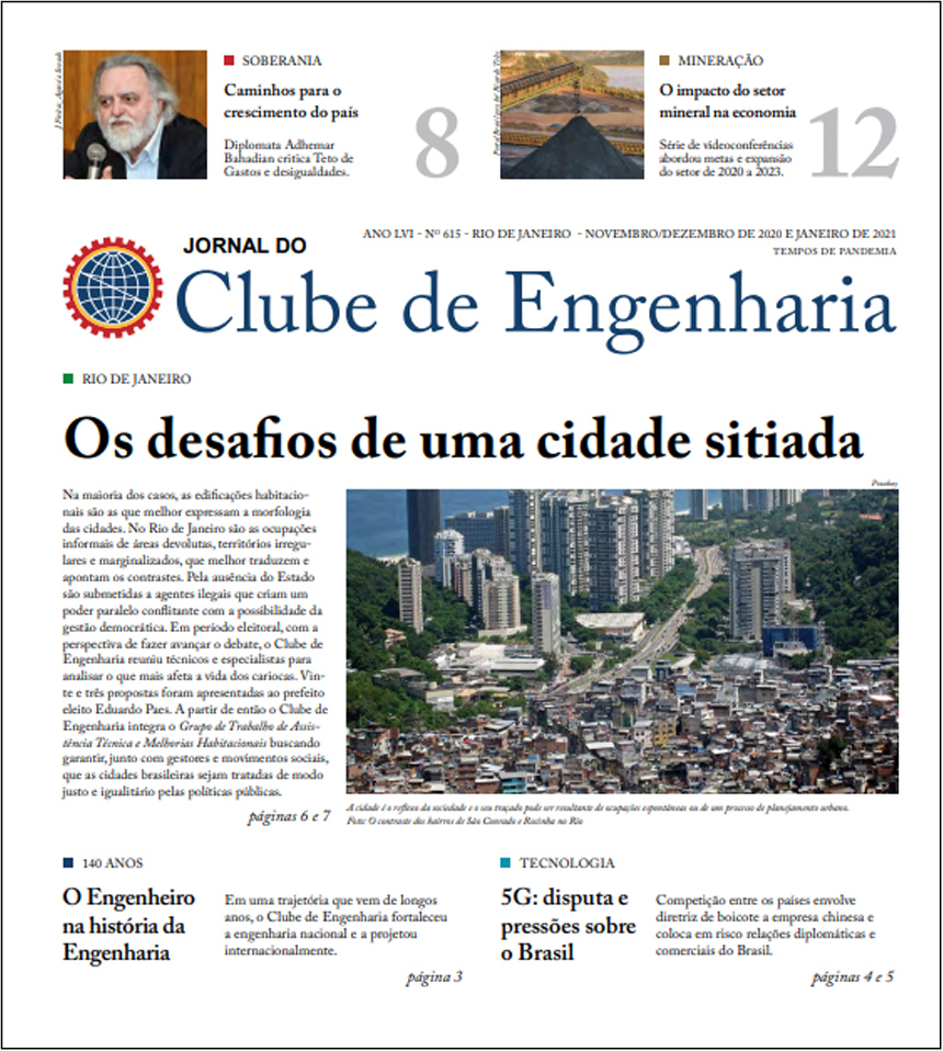 Jornal do Clube de Engenharia nº 615