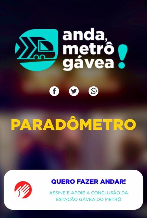 Movimento 'Anda Metrô Gávea' é lançado no Rio