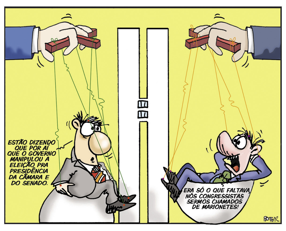 Charge do Pater Congresso