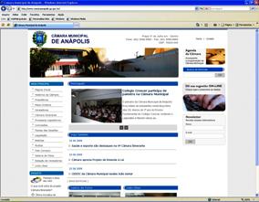 Site oficial da Câmara Municipal não publica dados importantes para a comunidade