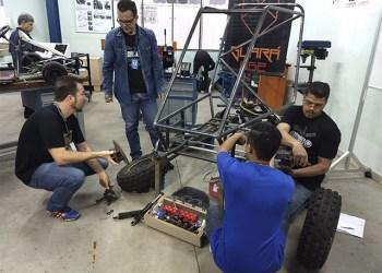 A construção de um kart elétrico é o objetivos de alunos da Engenharia Mecânica