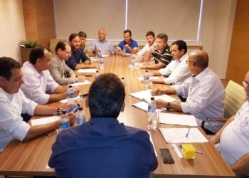 Reunião dos dirigentes do Anápolis Futebol Clube