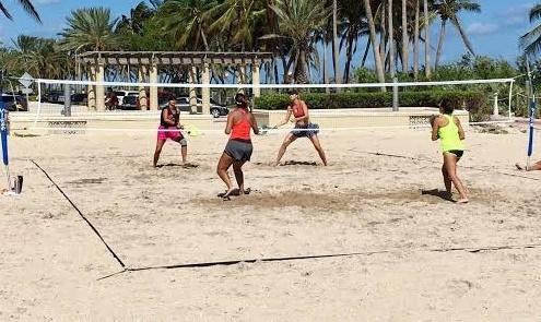beach tenis
