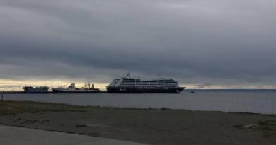 Azamara Pursuit cierra su paso por Chile con escala en Punta Arenas