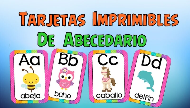Letras Del Abecedario Para Imprimir Portal De Educación
