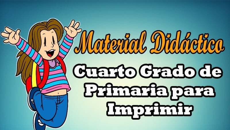 Material didáctico para CUARTO GRADO DE PRIMARIA - Portal de Educación