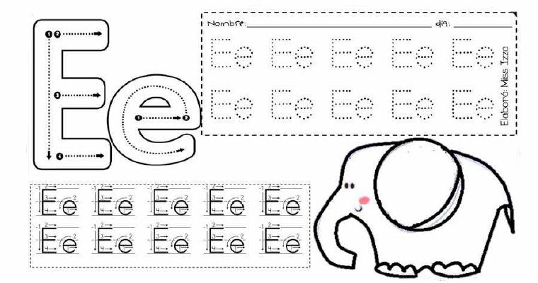 Actividades para enseñar el abecedario en preescolar