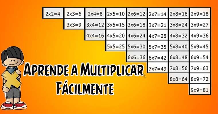 Aprende a Multiplicar Fácilmente