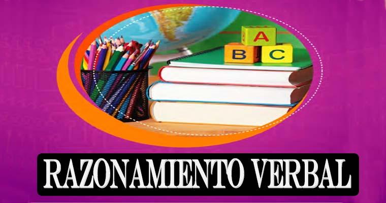 Libro Educativo: Razonamiento Verbal 2 ° año