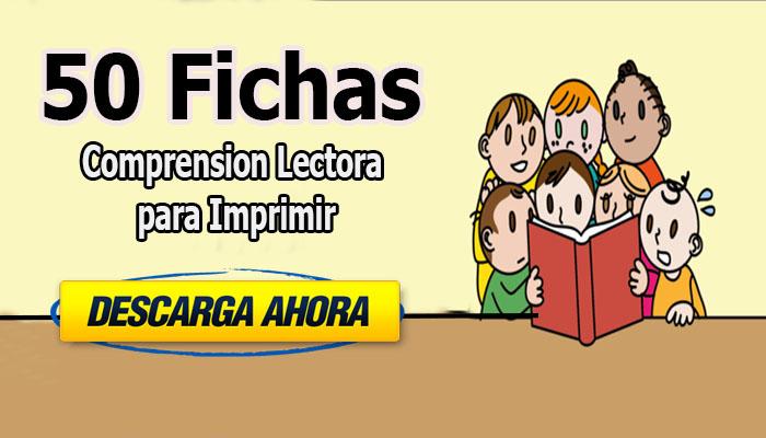 50 Fichas de Comprensión Lectora para Imprimir