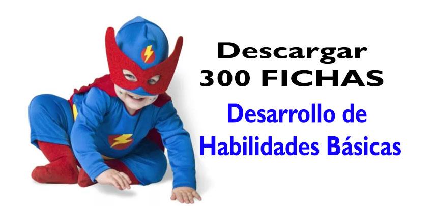 300 Fichas para el Desarrollo de Habilidades Básicas