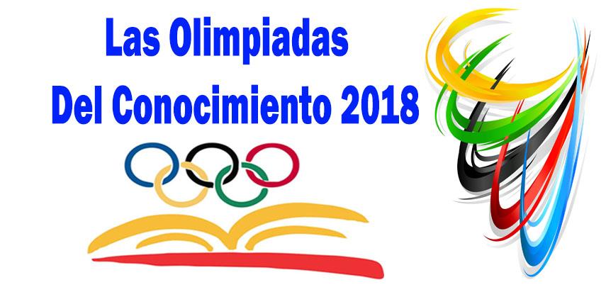 Examen Guía: Las Olimpiadas Del Conocimiento 2018