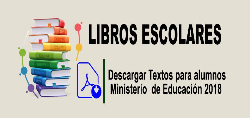 Textos del Ministerio de Educación 2018