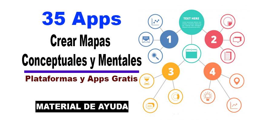 35 Apps para crear mapas conceptuales y mentales