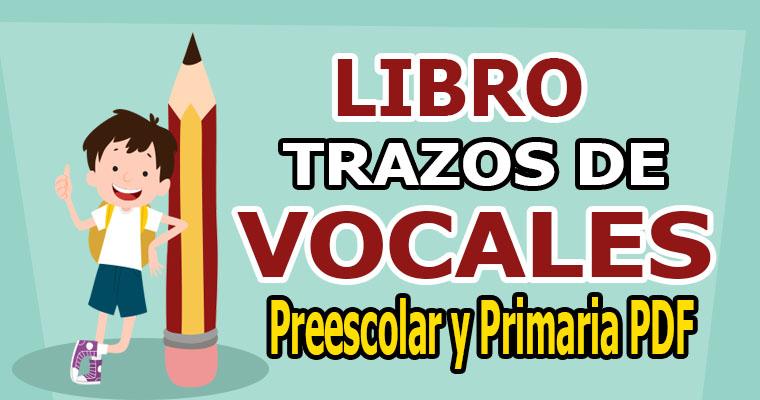 Libro de Trazos de Vocales para Preescolar y Primaria PDF