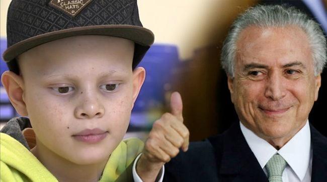 Resultado de imagem para Michel Temer fecha hospital da criança