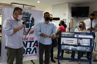 Ponta Porã sorteou carros e motos do IPTU 2020
