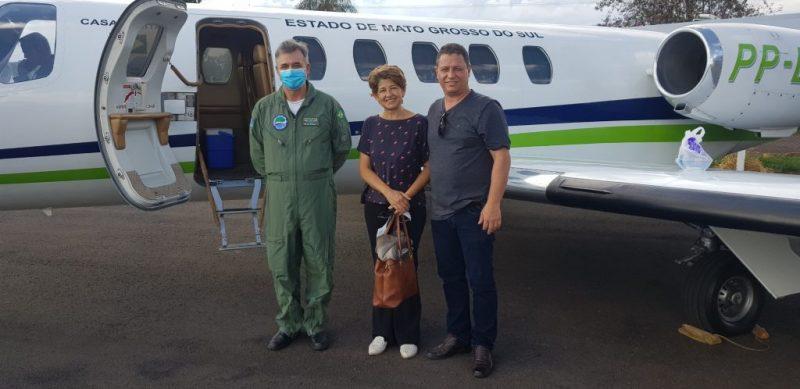 Na véspera de Natal, Governo do Estado leva três pacientes para fazer transplante no Paraná