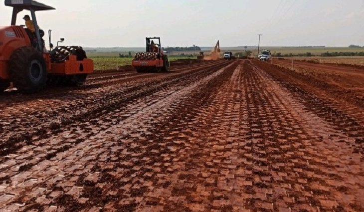 Governo investe R$ 52 milhões para pavimentar trecho da MS-165, rodovia Sul-Fronteira