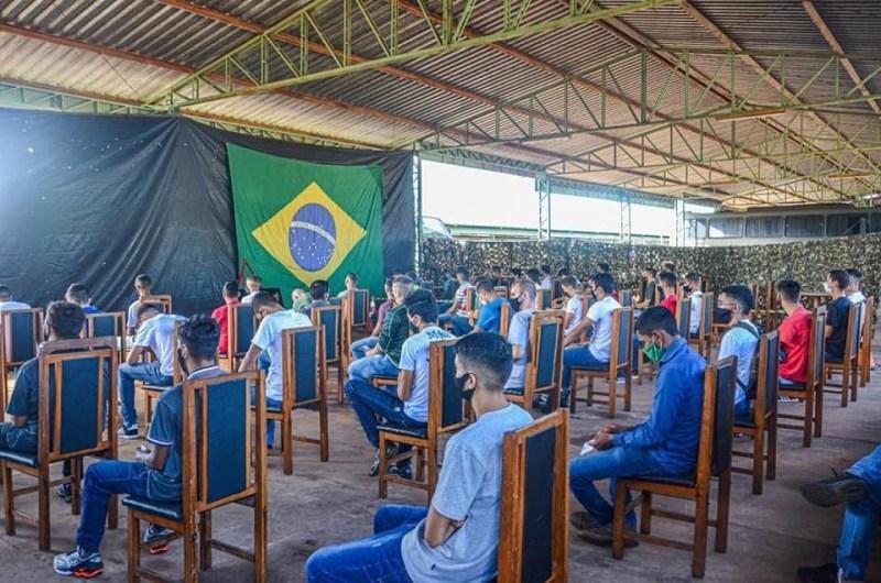 11° RC MEC REALIZA SELEÇÃO COMPLEMENTAR Ponta Porã (MS)
