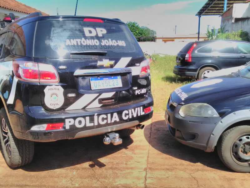 Polícia Civil prende condenado por furto qualificado em Antônio João
