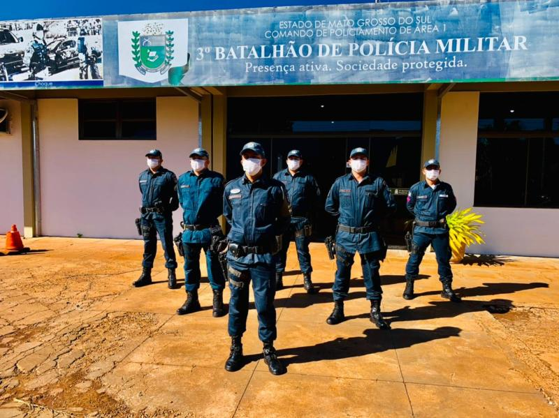 6 Novos Sargentos da PMMS assumem hoje suas funções no 3º BPM