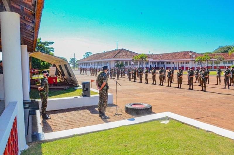 11º RC MEC REALIZA SOLENIDADE EM COMEMORAÇÃO AO DIA DO EXÉRCITO BRASILEIRO