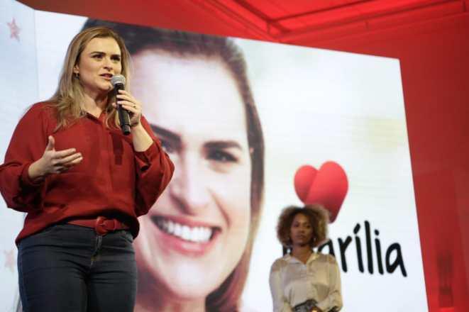 Marília Arraes é oficializada candidata do PT à Prefeitura do Recife