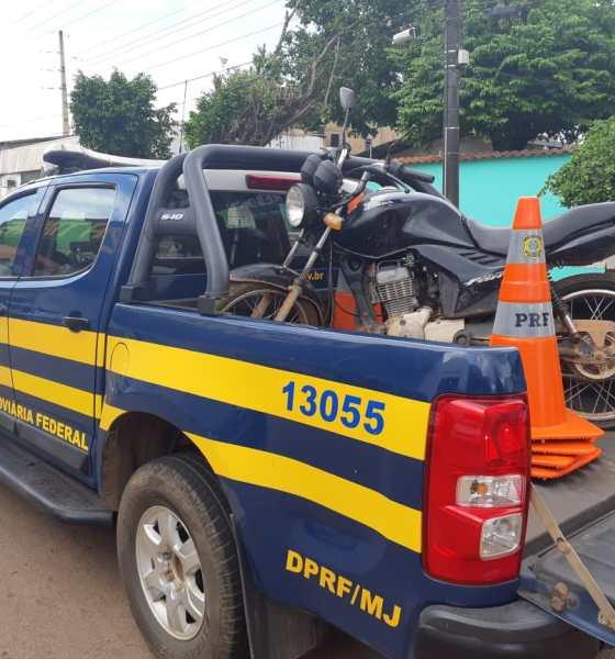 Em patrulhamento na BR-364, PRF recupera 4 veículos roubados