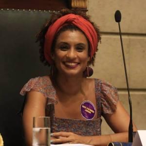 Marielle Franco Vereadora do Psol assassinada no Rio de Janeiro