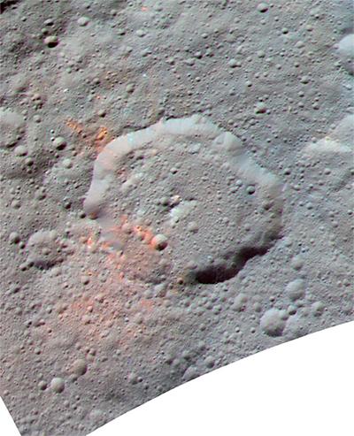 Compostos Orgânicos na Cratera Ernutet, Ceres.