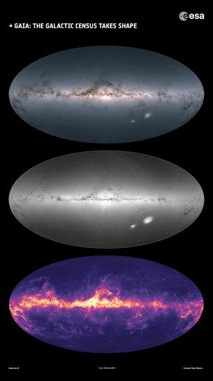 Mapas Gaia - Abril 2018.
