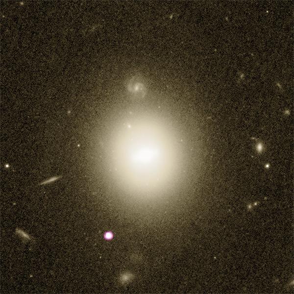 Investigadores descobrem o melhor sinal de um buraco negro raro