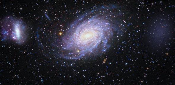 """O satélite Gaia descobriu uma galáxia """"fantasma"""" nas vizinhanças da nossa"""