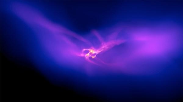 Halo de matéria escura.