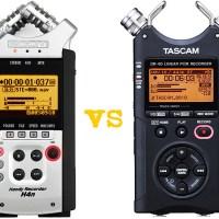 Zoom h4n ou Tascam DR-40 - Qual o melhor gravador de áudio?