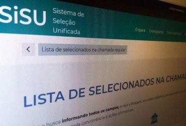 Ministério da Educação divulga lista de aprovados no Sisu
