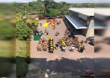 CBMAM REALIZA SIMULADO DO CURSO DE FORMAÇÃO DE BOMBEIROS MILITARES DA SAÚDE