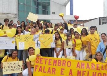 LITERATUS REALIZA AÇÕES EM PROL DA SAÚDE MENTAL DURANTE A PROGRAMAÇÃO DO SETEMBRO AMARELO
